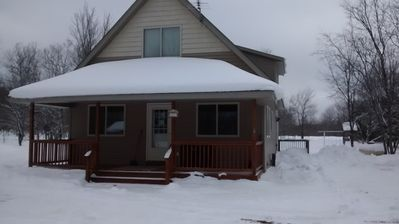 Photo for LAKES OF THE NORTH GOLF, SNOWMOBILE, ORV, FISH, SWIM, HIKE, AND HUNTING COTTAGE