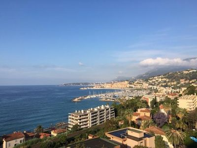 Photo for Spacious, modern, 2 bedrooms and 2 bathrooms. superb sea view