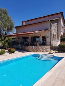Photo for Almond Villa, peaceful, stunning views, private pool, WIFI & wheelchair friendly