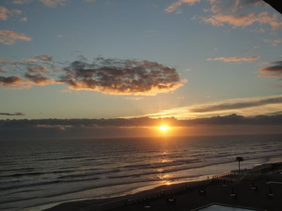 Photo for Watch the sunrise over the ocean, go golfing , fishing , boating or local events