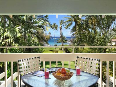 "Photo for Poipu Newly Upgraded Kitchen Across from gorgeous beaches ""A/C Master Suite"" *Manualoha 105*"