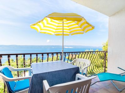 Photo for Charming studio with stunning sea view