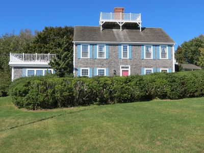 Photo for Shore Road, Chatham. Sleeps 12, harbor views, walk to everything! 455-C