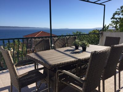 Photo for Seaview, new renovated charming house, 80m from the ocean, 4 sleeping rooms, 8 beds