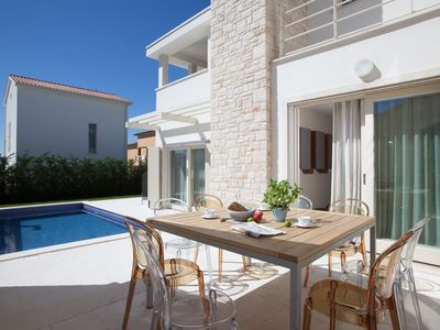 Photo for Modern Villa Ginevra, in Istria, with a Pool