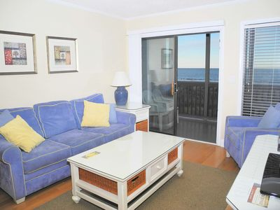 Photo for Tilghman Beach and Racquet Club Unit: 103! Oceanfront 3 Bedroom Condo. Book now for best rates!