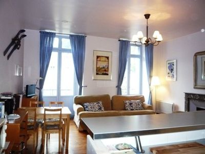 Photo for Bright apartment, with south facing balconies and mountain views, Luchon