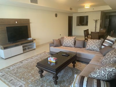 Photo for TWO BEDROOM APARTMENT ON THE PALM JUMEIRAH  FULLY FURNISHED AND EQUIPPED