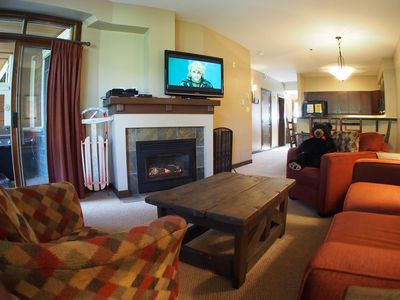 Photo for Ground floor 2 bedroom condo, very close to ski-in/out trails