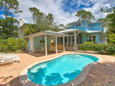 Photo for Grayton Sea Glass - Heated Private Pool, Screened Porch, Close to Beach & Shops!