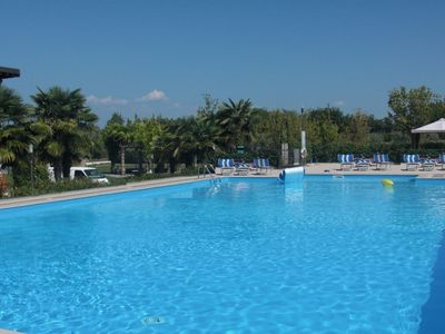 Photo for Bright Apartments Lonato - Paradiso Pool and Tennis