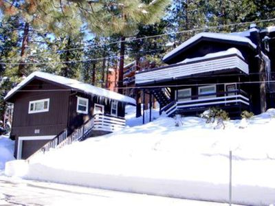 Enjoy winter in Lake Tahoe, excellent skiing & our new Sauna!