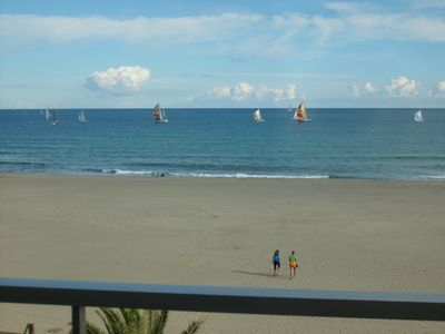 Photo for 3-room apartment facing the sea 4 to 6 people 2 bedrooms Very pleasant parking