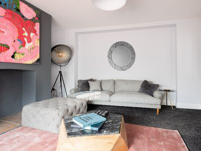 Photo for The Victoria Cottage - Bright 3BDR Terraced Home with Patio and Parking
