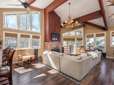 Photo for DEER VALLEY - WALK to SILVER LAKE Lifts & Dining - PRIVATE HOT TUB W/ VIEWS