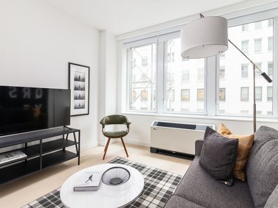 Photo for Sonder | Wall Street | Upscale 1BR + Sofa Bed