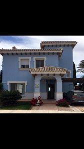 Photo for Beautiful 3 bedroom Villa on the 5* Mar Menor Golf. Heated  Pool &  Free Wi-Fi
