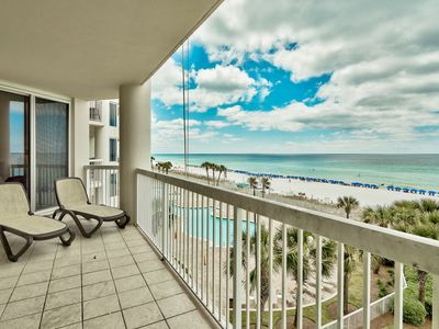Photo for Silver Beach Towers - 3 Bedroom 3 Bath Gulf Front Luxury! Unbeatable Views!