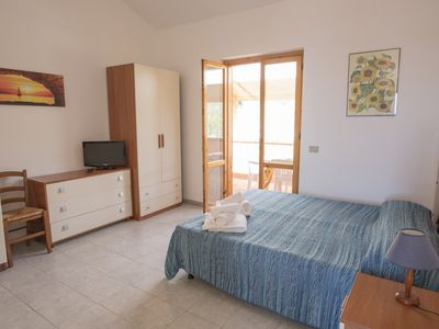 Photo for Studio 200 meters from the sea, wifi, self catering