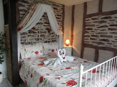 Photo for Romantic Rose cottage in the Eifel, close to all the attractions