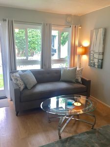 Photo for Spacious Studio, Newly Redecorated, Hot Tub, Steps to the Bay and Beach!