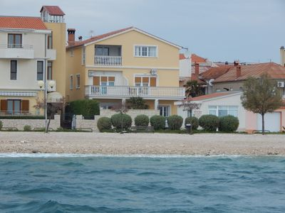 Photo for Yellow Apartment - Beautiful apartment first row to the sea, sea view.