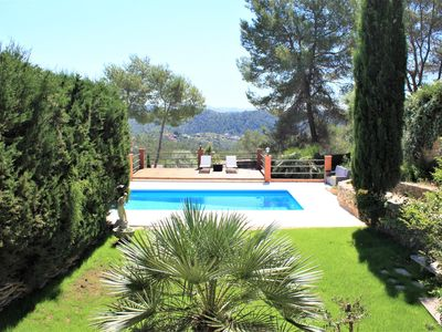Photo for Villa Wanderlust Sitges Hills. Exclusive swimming pool, private 1000mts garden