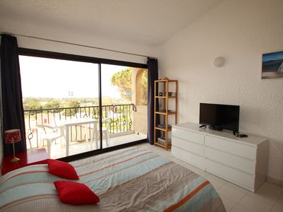 Photo for Apartment 2-3 people SEA 900m from the sea between Calvi and Ile Rousse