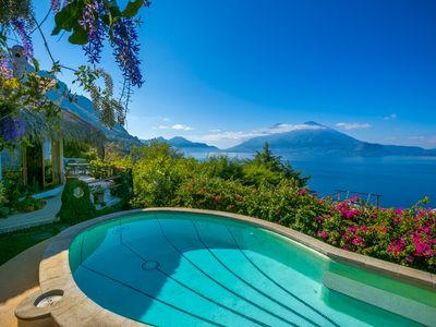Photo for Most Spectacular View and Sunsets on Magnificent Lake Atitlan
