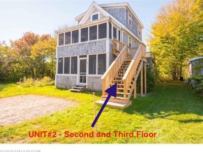 Photo for ONLY 1 WEEK LEFT-Multi-family Beach Cottage #2. Just STEPS  to Long Sands Beach