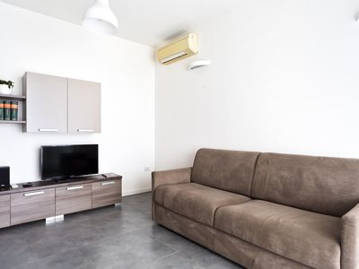 Photo for Nerone apartment in Ravenna with WiFi, integrated air conditioning, private parking, private roof t…
