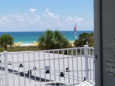 view from private deck