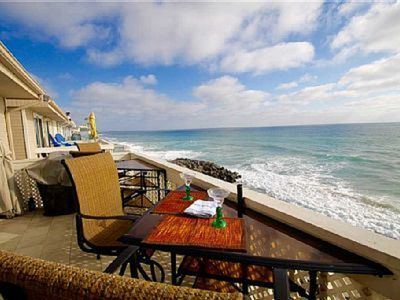 Oceanfront Penthouse with Private Beach