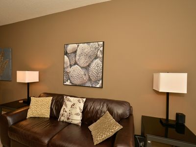 Photo for Quiet, Beautifully Furnished 2 Bedroom Suite In South Central Calgary