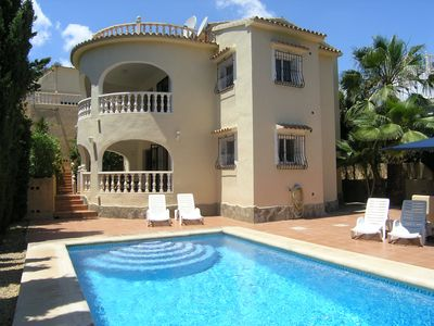 Photo for BEST PRICE, PRIVATE POOL, CENTRAL HEATING, WIFI, SAT, FROM 2 TO 9 PEOPLE