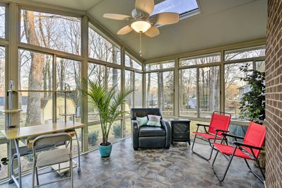 Your next Greensboro getaway begins with this recently renovated vacation home!