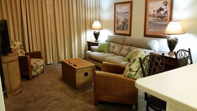 Photo for Beautiful 2BR Beachfront / Master Bedroom & Den on Gulf