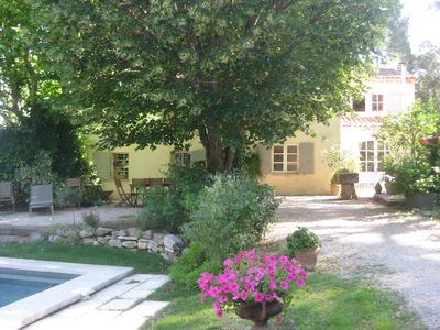 Photo for Beautiful provencal bastide 5 minutes from the city center of Aix en Provence