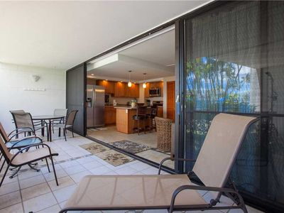 Photo for Completely remodeled two bedroom condo at Maui Parkshore in South Kihei. #105