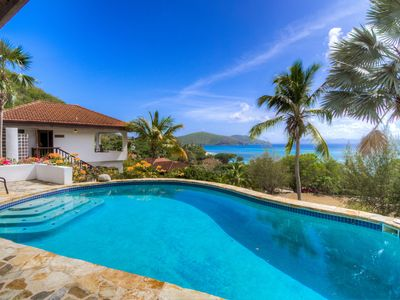 Photo for Spectacular views, pristine beach, amazing snorkelling,private tennis