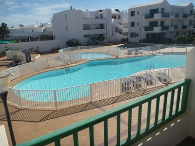 Photo for beautiful 2 bed, centrally located, costa teguise (discounts available)