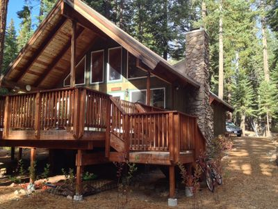 tahoe at north south reasons cabins surrounded cabin caro for five rentals by rental log your to next lake the vacation forest consider santeetlah