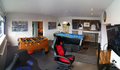 Photo for Large Holiday Let Suitable for Families, Groups. Sleeps up to TEN. Games room.