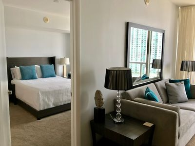 Photo for LUXURY 1 Bedroom w/GREAT VIEWS @ ICON 3