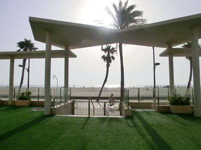 Photo for COZY BEACHFRONT APARTMENT IN VALENCIA