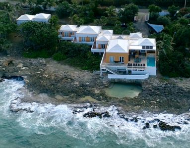 Photo for Sea View Play Private Ocean Front Villa Pool & Natural Tide Pool Cane Bay Beach