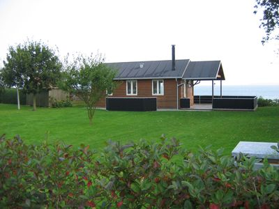 Photo for 37 m2. 37 m2  1st row lovely house facing and with fantastic view over  Limfiord