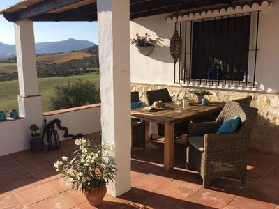 Photo for Holiday house with swimming pool in the hills with breathtaking views.