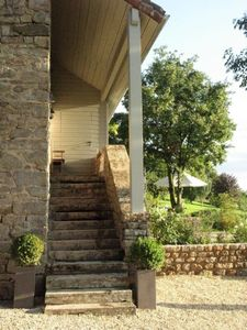 Photo for Idyllic house with swimming pool and large garden, 5 km from Cluny