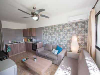 Photo for 2 Bedroom Apt ☆Roof Top w/Sea view☆Walk to the Beach